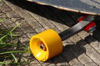 Lemon Yellow Pigmented Skateboard Wheel Thumbnail